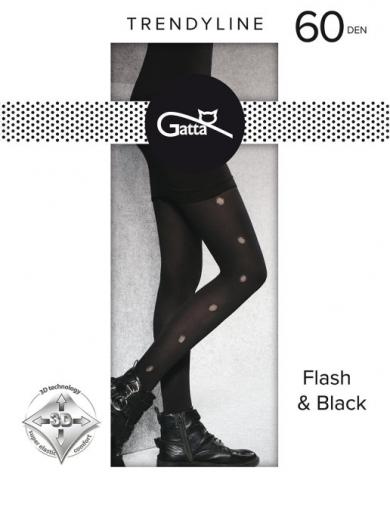 Gatta КолготкиFLASH & BLACK 03