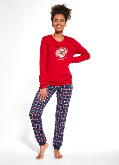 cornette 671 REINDEER Пижама женская со штанами