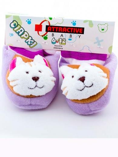 attractive Пинетки для малышей с котиком АТ1009 кот