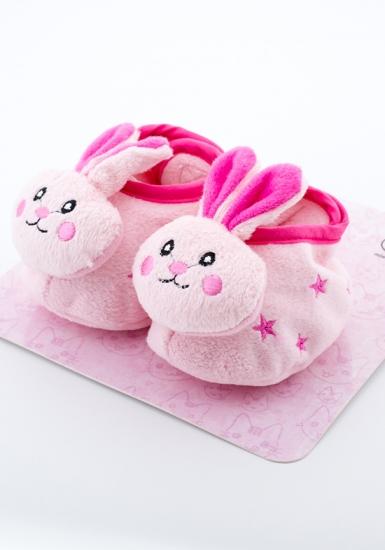 attractive Пинетки на липучке с зайчиками АТ1078 заяц