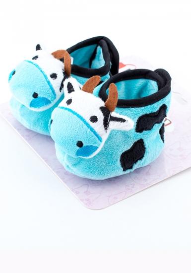 attractive Пинетки на липучке с коровой АТ1078 корова