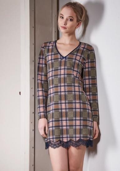 rebecca & bross. Модное домашнее платье для девушек R&B_3642