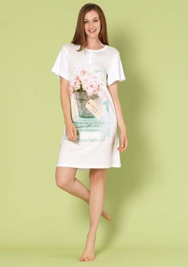 bisbigli Ночная сорочка с цветами Bis_73343