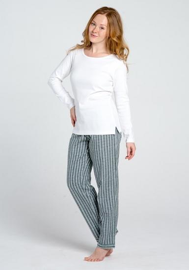 lady law Мягкая фланелевая пижама для женщин Pellegrini_Mary flanella 805