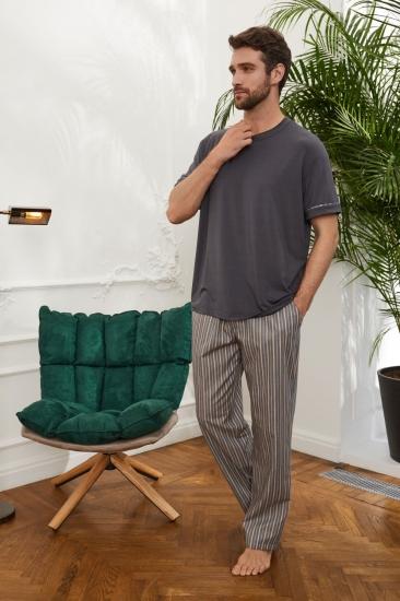 laete Пижама мужская с брюками (51880-1+61657)