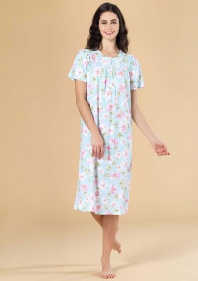 linclalor Длинная ночная сорочка с цветами L_73255