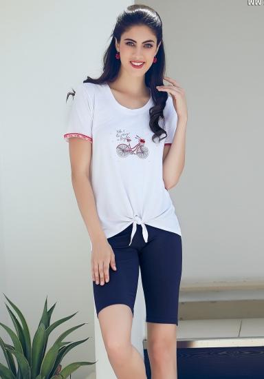 miss lingerie Молодежная пижама на лето DiBen_Bike