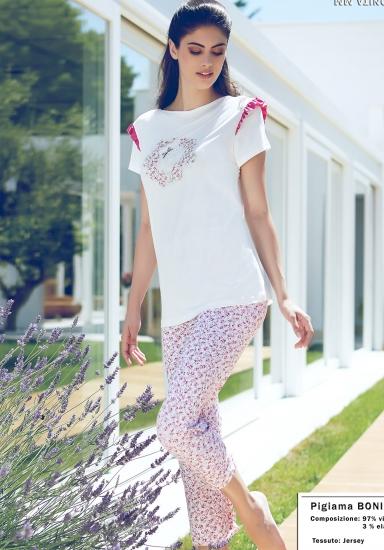 miss lingerie Женская пижама с милыми цветочками DiBen_Bonita