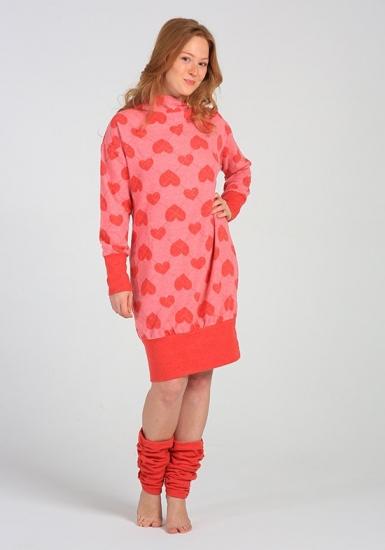miss lingerie Красное домашнее платье с гетрами DiBen_Lori