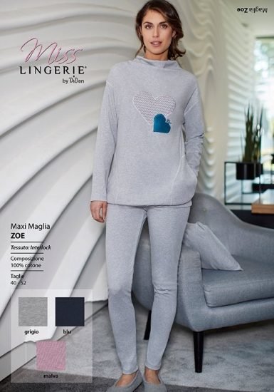 miss lingerie Леггинсы и туника для дома и сна DiBen_Zoe