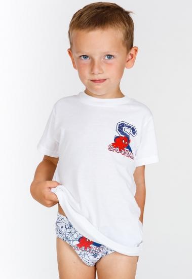 planetex Комплект нижнего белья для мальчика с Человеком-пауком Planetex_МW13038 bianco
