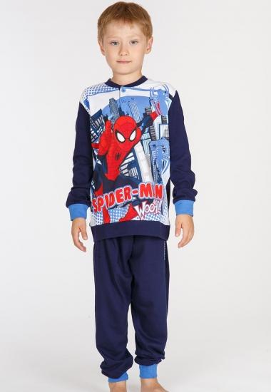 planetex Хлопковая пижама для мальчика с Человеком-пауком Planetex_MV16044B