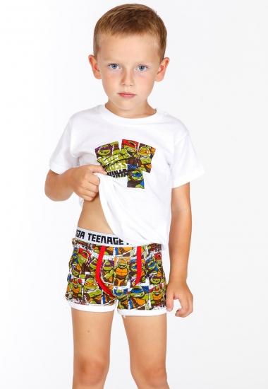 planetex Нижнее белье для мальчиков с черепашками Planetex_TN13005 bianco