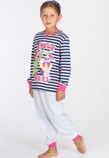 planetex Яркая пижама для девочек с гномиком Planetex_WD22511В