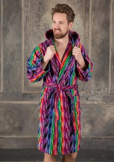 riviera carillo home Оригинальный махровый халат для мужчин Riviera_Fashion 04 uomo