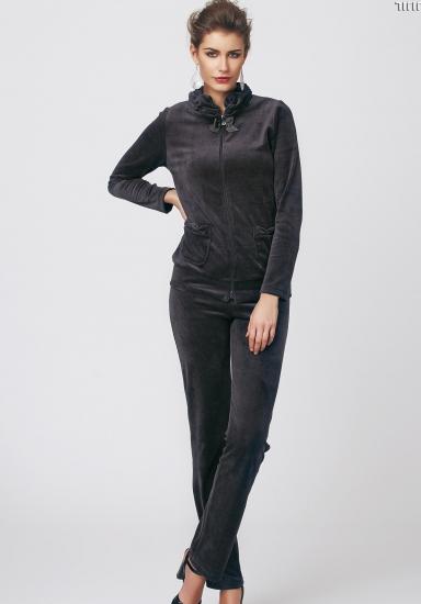 sunnyday Роскошный женский велюровый костюм DiBen_Jijil