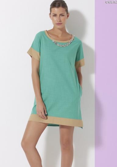 sunnyday Функциональное пляжное платье с коротким рукавом DiBen_Saturno