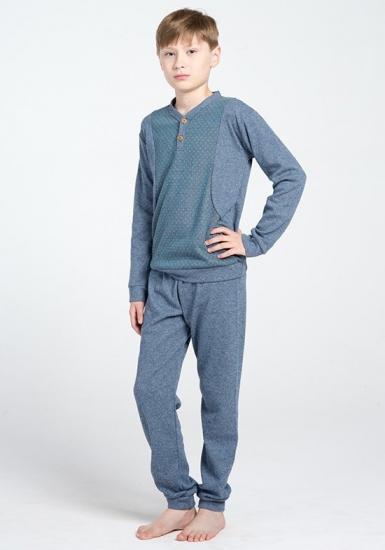 twisi junior Теплый детский домашний комплект для мальчиков DiBen_Romeo