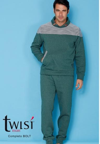 twisi Трикотажный мужской домашний костюм Twisi_Bolt