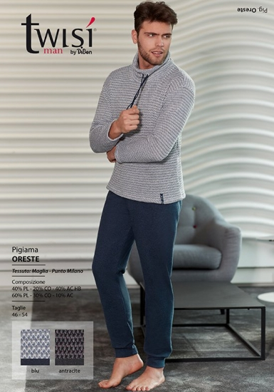 twisi Практичная мужская домашняя одежда Twisi_Oreste