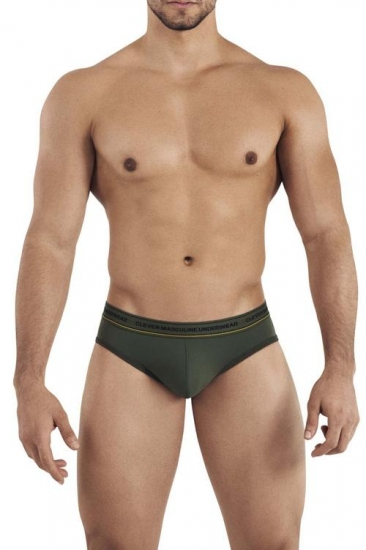 clever Мужские тонги зеленые Clever INTUITION THONG 030910