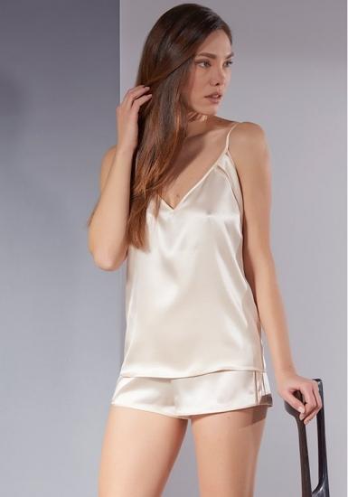 verdiani Изысканная женская шелковая пижама VI_4806