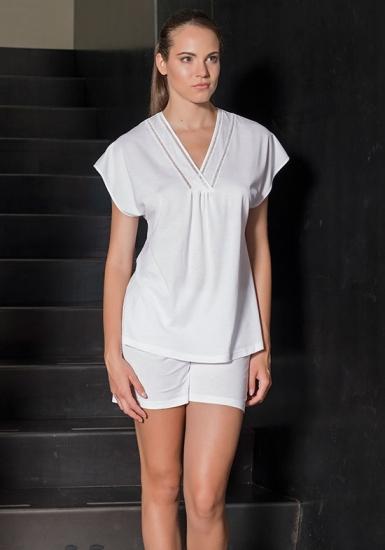 verdiani Белая пижама из хлопка VI_4900