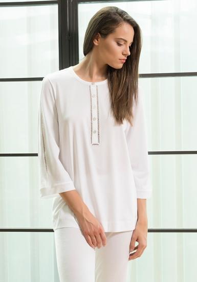 verdiani Элегантная итальянская пижама для женщин VI_4901