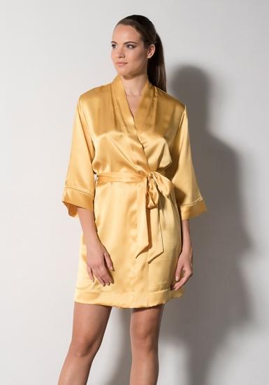 verdiani Яркий шелковый халат VI_4938