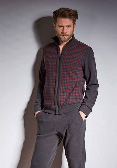 verdiani Домашний костюм для мужчин с кофтой на молнии VI_U5853