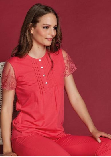 vilfram Яркая женская пижама с коротким рукавом V_9226