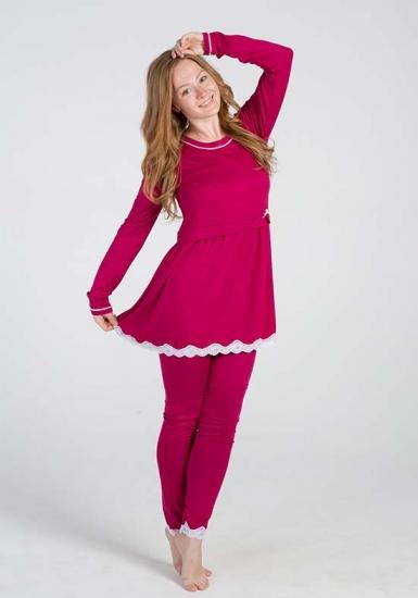 vilfram Яркая пижама из вискозы V_9577