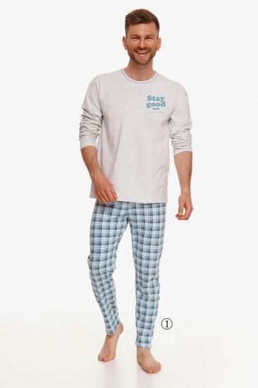 taro 2656 21/22 MARIO Пижама мужская со штанами