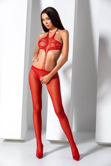passion erotic line BS 080 Red Боди-комбинезон