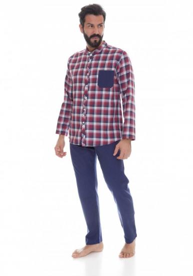 b&b Мужская пижама с оригинальной кофтой B&B_U4482