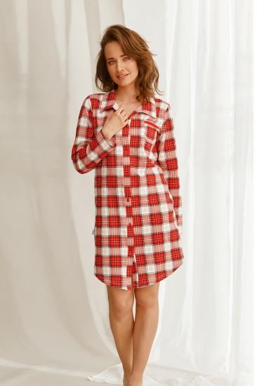 taro 22W Celine 2583-01 стильная сорочка-рубашка на пуговицах