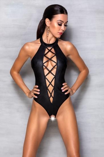 passion lingerie Nancy body Black Боди