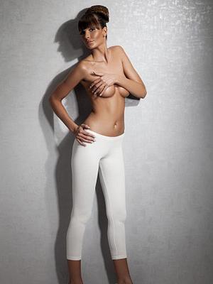 Doreanse Женские термоколготки белые укороченные Doreanse 8060