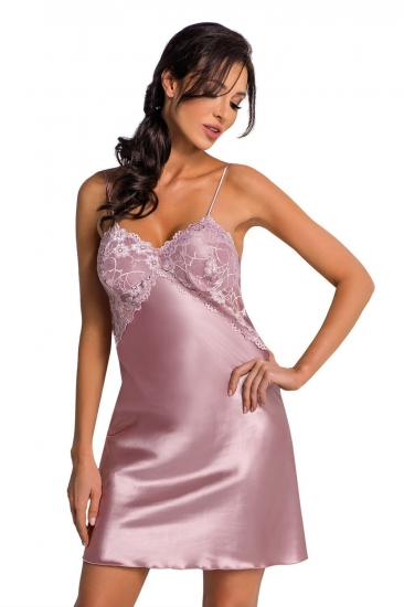 donna Anya nightdress Powder Pink размер XL Сиреневый