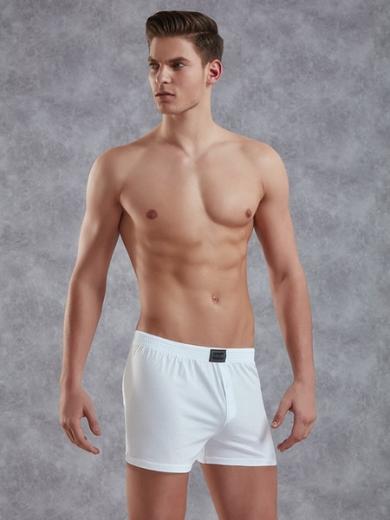 doreanse Мужские трусы боксеры plus-size белые 1511P