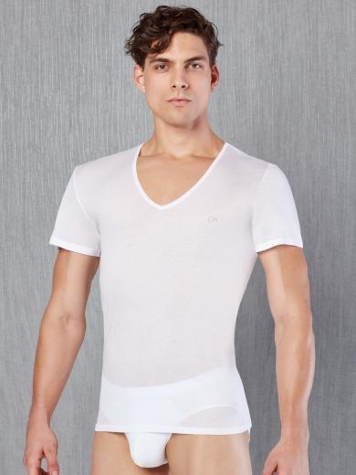 doreanse Cotton Premium 2530-02 Футболка размер XXL белый