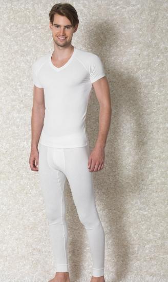 Doreanse Мужская термо футболка кремовая 2880