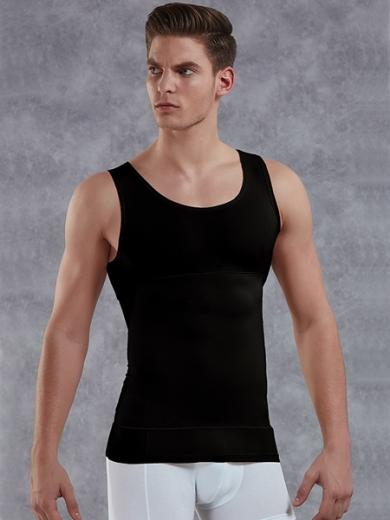 doreanse Мужская майка-корсет plus-size 5950P черная размер XL Черный