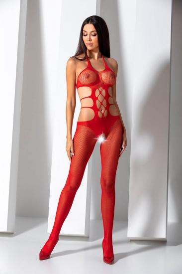 passion erotic line BS 084 Red Боди-комбинезон