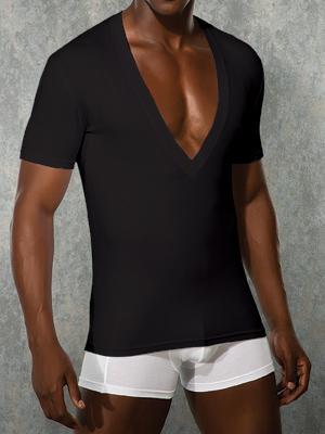 Футболка Doreanse Мужская футболка черная Doreanse 2850