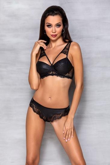 passion lingerie Loona set Black комплект