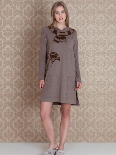 Платье Hays Stellina Sleeve 17004 размер 44 кофейный