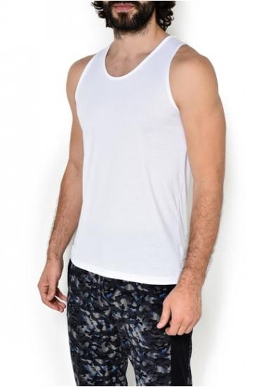 Zimmerli Textil Майка 2861440 Белый (муж.)