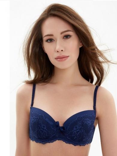 Бюстгальтер Infinity Lingerie Versailles 31204110694 размер 75 A синий