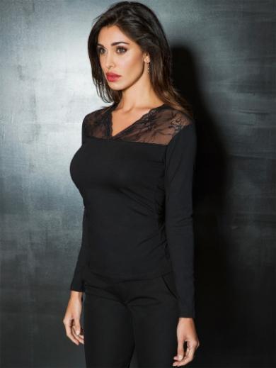 Jadea 4872 maglia блузка размер S/M nero
